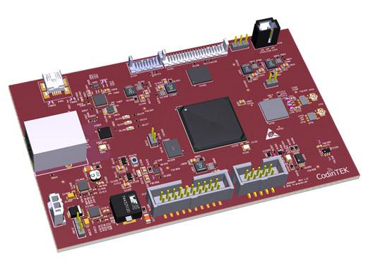 70MHz-6GHz RF board